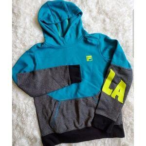 Fila youth hooded sweatshirt